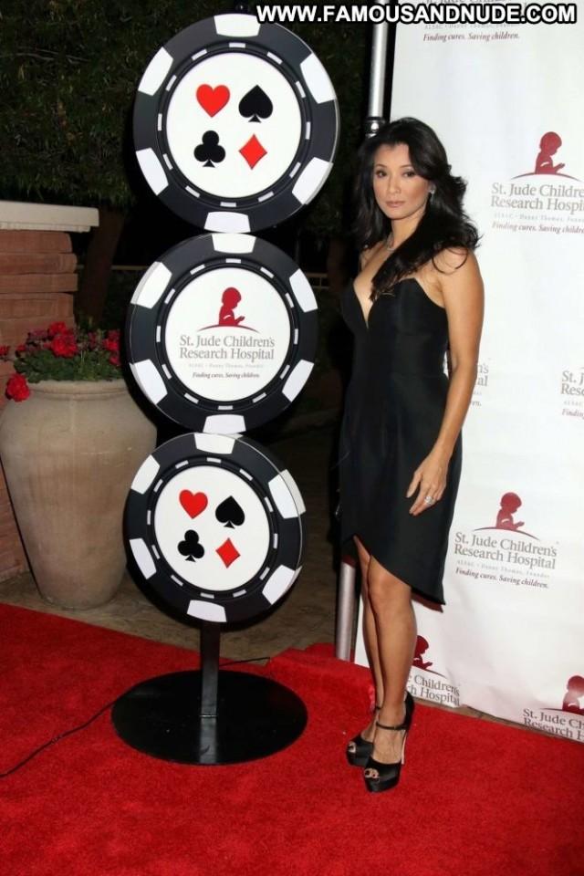 Kelly Hu Against All Odds Posing Hot Beautiful Celebrity Poker