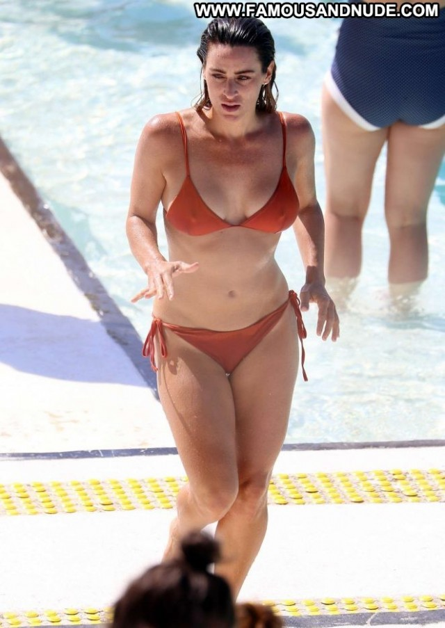 Rachael Gouvignon No Source Bikini Paparazzi Orange Celebrity