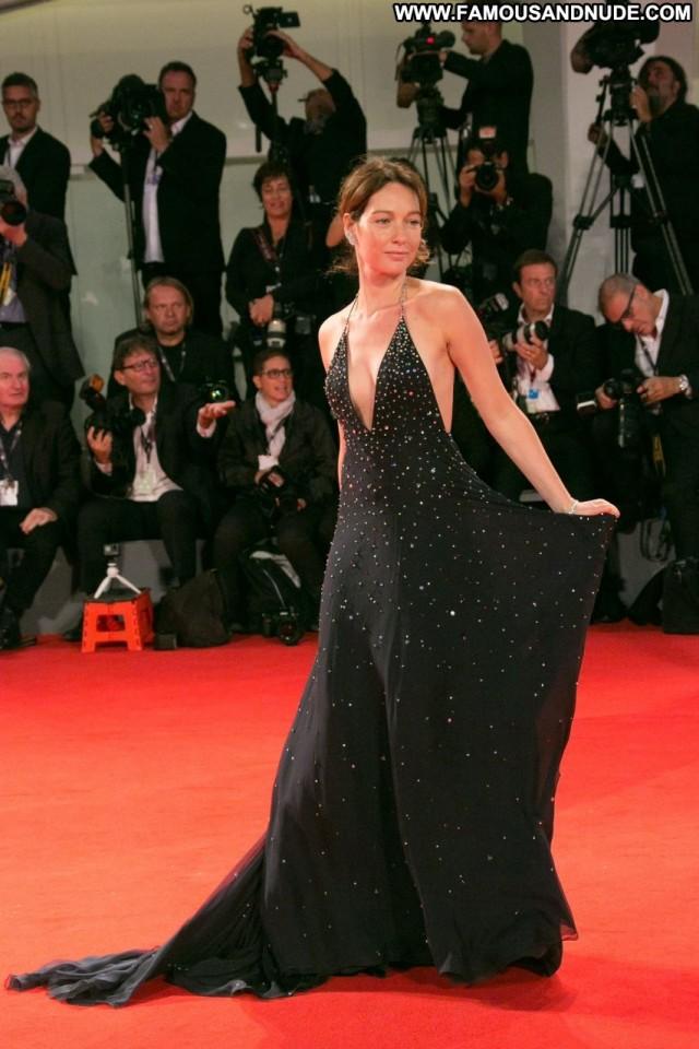 Cristiana Capotondi The Red Carpet Car Celebrity Italian Nip Slip