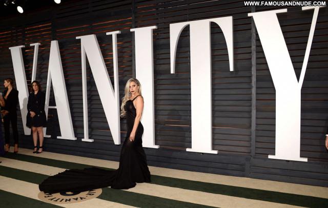 Oscar Vanity Fair Hollywood Party Babe Beautiful Posing Hot Paparazzi