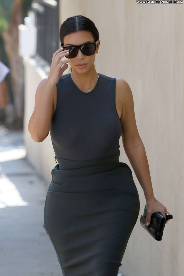 Kim Kardashian Los Angeles Posing Hot Los Angeles Celebrity Beautiful