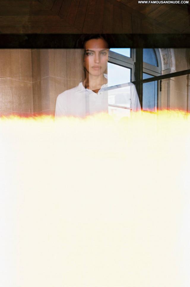 Irina Shayk W Magazine Celebrity Paparazzi Beautiful Posing Hot Babe