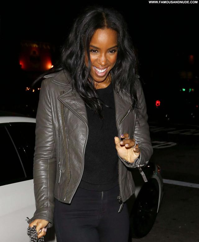 Kelly Rowland Los Angeles Celebrity Posing Hot Los Angeles Angel