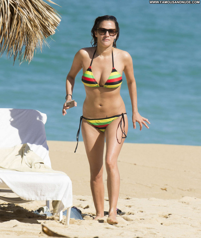 Caroline Flack No Source Posing Hot Babe Paparazzi Beautiful Jamaica