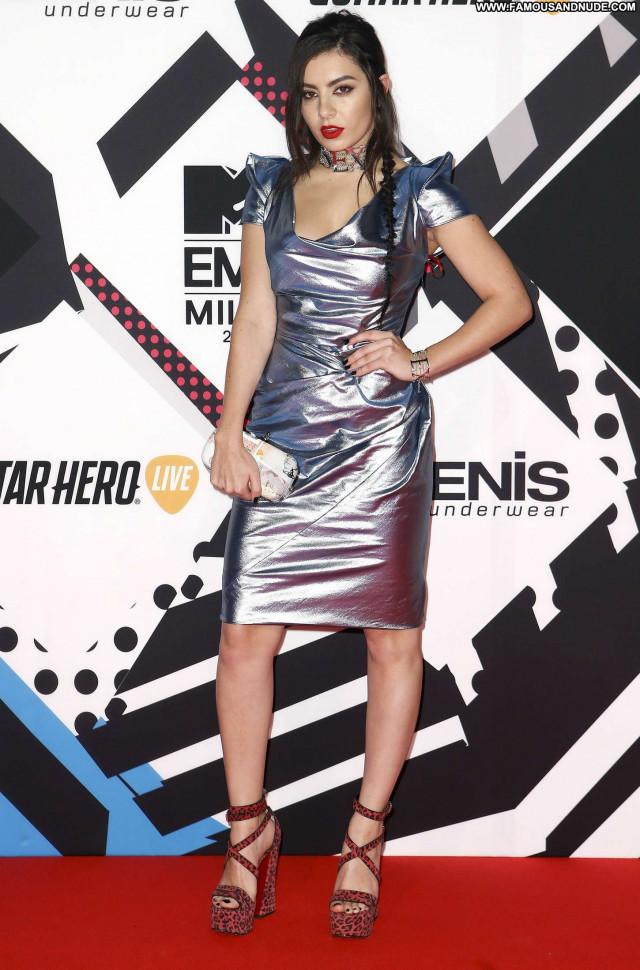 Charli Xcx No Source European Celebrity Posing Hot Paparazzi Babe