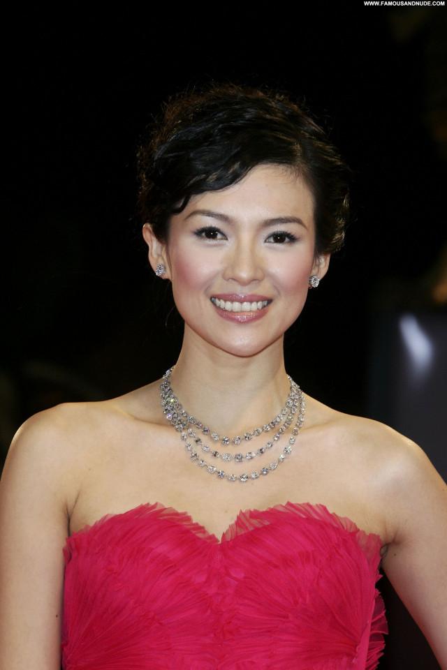 Zhang Ziyi No Source Beautiful Celebrity Posing Hot Asian Babe